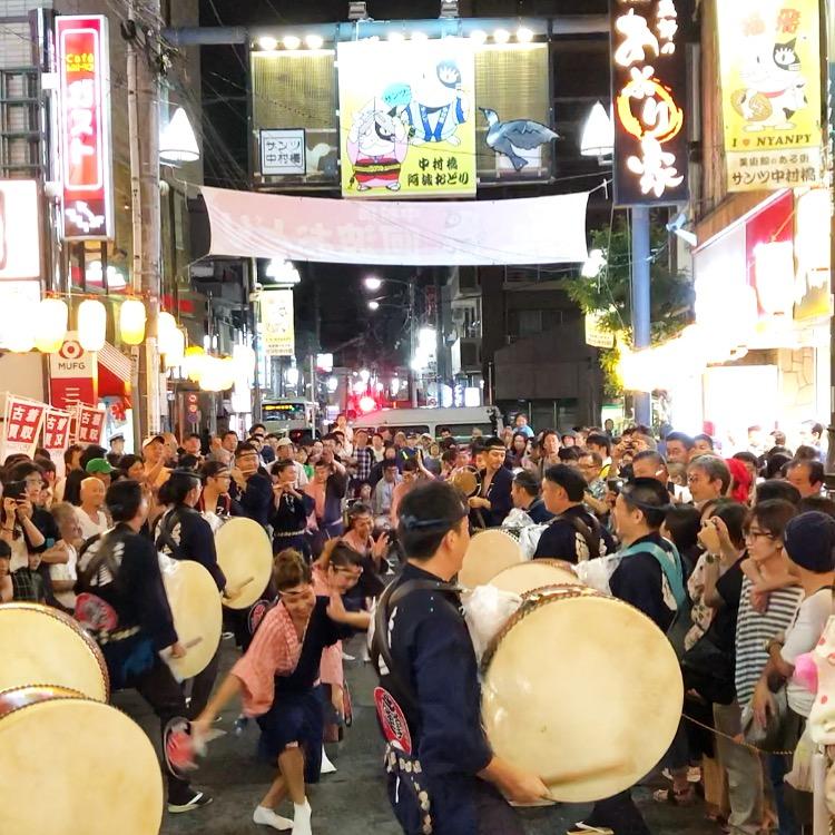 中村橋阿波踊り 画像